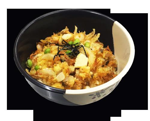 海鮮かき揚げ丼2